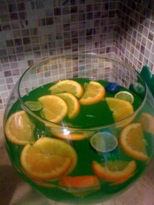 St. Patrick's Day Green Punch Recipes! 4 punch recipes, pick your poison...Champagne, vodka or whiskey!
