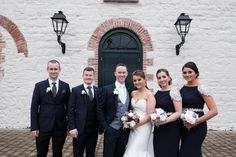Leah and Jason chose navy as their colour scheme for their autumnal wedding at the Brehon Hotel and opted for splashes of colour in their flowers using whites and burgundy tones. Photo by Shane Turner Photography Autumn Weddings, Fall Wedding, Our Wedding, Wedding Venues, Civil Ceremony, Bridesmaid Dresses, Wedding Dresses, Industrial Wedding, Wedding Wishes