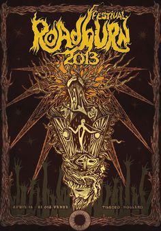 Roadburn 2013 - Poster