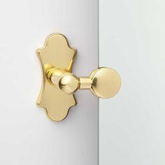 "28"" Tangular Square Tilting Mirror - Polished Brass"