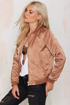 Maison Scotch Shana Bomber Jacket - Jackets