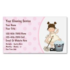 Cleaning Business Cards Cleaning Business Cards Cleaning