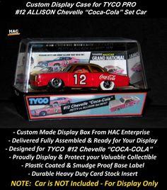 Custom Display Case: TYCO PRO #12 Allison Chevelle