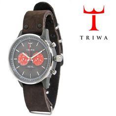 TRIWA(トリワ)×Tarnsjons レザー リストウォッチ 腕時計 ダークブラウン 【送料無料】 wc-triwa-043