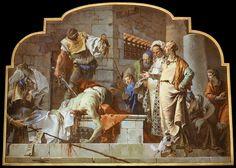 Giovanni Battista Tiepolo (1696-1770) The Beheading of John the Baptist