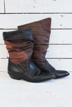 vintage atch boots, love the colors on dem! www.sugarsugar.nl