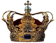 Serbian Royal Crown. It has the Serbian Sapphire, the largest cut sapphire in the world