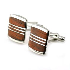 PenSee Rare Stainless Steel & Red Wood Cufflinks for Men with Gift Box PenSee $17.99 http://smile.amazon.com/dp/B00BSK6TFG/ref=cm_sw_r_pi_dp_-gl9tb07NS61Y