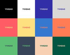 Brand New: New Logo and Identity for Tweag by Brand Brothers Branding, Tru Colors, Programming Tools, Distributed Computing, Innovation Lab, Communication Art, Brand Identity Design, Color Pallets, Motion Design