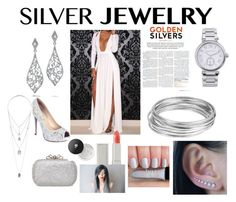 """""""Silver"""" by smallerhomie ❤ liked on Polyvore"""