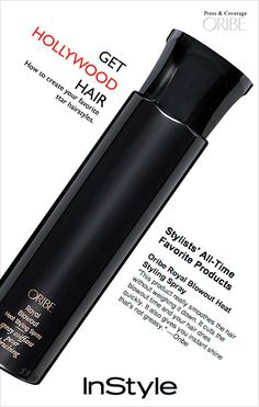 This is another Oribe product which I picked up from Blue Mercury... pricy number but it works magic. Keeps your hair tamed, volumized, and shiny. Extra plus- it smells delicious.
