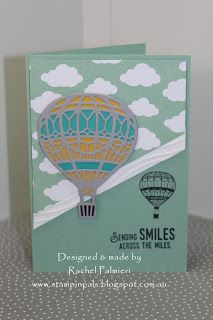 Stampin Up Lift Me Up Occasions 2017 card by Rachel Palmieri, Stampin Up Demonstrator Melbourne.