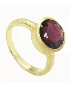 Amethyst Genuine Gem Ring  Price: $65.00
