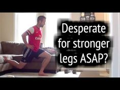 Soccer Workouts ► How To Get Stronger Legs For Soccer at home with football workouts and soccer exercises. This soccer workout will teach you how to get stro. Soccer Workouts, Soccer Drills, Soccer Tips, Soccer Games, Soccer Training, Running Training, Strong Legs, Goalkeeper, Soccer Ball