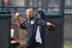 Feb. 12, 2014: Derek Jeter gets some work in at the Yankees' spring training complex in Tampa before logging on to Facebook (yep, Facebook), to announce that 2014 will be his final season with the Yankees.