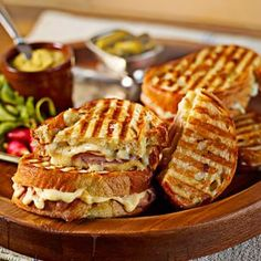 Shop croque monsieur panini from Williams Sonoma. Our expertly crafted collections offer a wide of range of cooking tools and kitchen appliances, including a variety of croque monsieur panini. Panini Sandwiches, Wrap Sandwiches, Popeyes Menu, Entree Recipes, Cooking Recipes, Best Sandwich Recipes, Soup And Sandwich, Sandwich Board, Williams Sonoma