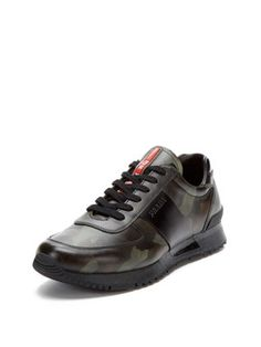 d8a086c3d88b5 Low-Top Sneakers by Prada at Gilt. Casual SneakersLeather SneakersCasual  ShoesPrada ...
