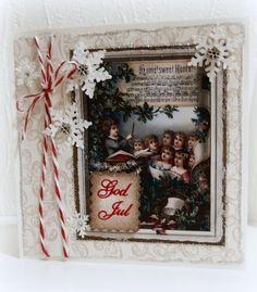 Moski Ladder Decor, Christmas Cards, Sweet, Frame, Home Decor, Christmas E Cards, Candy, Picture Frame, Decoration Home