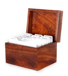 Yamauchi Koa Recipe Box