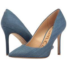 2749854431686b Sam Edelman Hazel (Mid Blue Light Denim Fabric) Women s Shoes ( 85) ❤