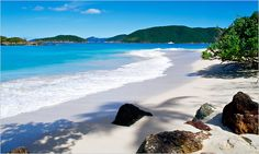 Cinnamon Bay, St. John, Virgin Islands.