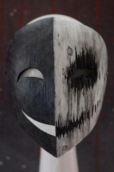 Creepy Masks, Creepy Art, Mascara Anime, Mask Drawing, Arte Obscura, Armor Concept, Masks Art, 3d Prints, Dark Fantasy Art