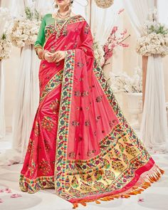 0d5dc7c7dd8 Flaunt Your New Ethnic Look By Wearing This Bridesmaid Saree From Simaaya  Online Store. https