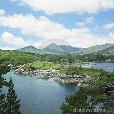 Bantry Bay in County Cork, Ireland - Beautiful!  This to me would be the perfect vacation spot.