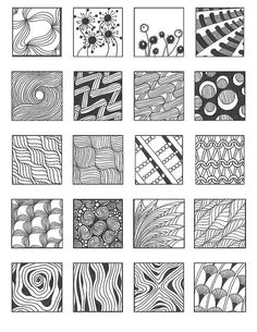 ZENTANGLE PATTERNS noncat 13 | Flickr - Photo Sharing!