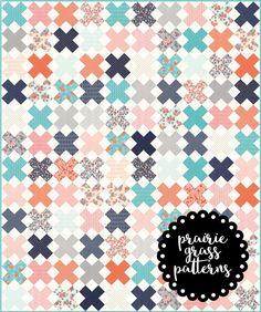 Crisscross Quilt Pattern {PDF}