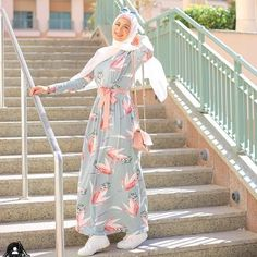 Pre spring hijab fashion looks – Just Trendy Girls - Fashion Hijab Fashion Summer, Modest Fashion Hijab, Modern Hijab Fashion, Street Hijab Fashion, Modesty Fashion, Hijab Fashion Inspiration, Islamic Fashion, Hijab Chic, Abaya Fashion