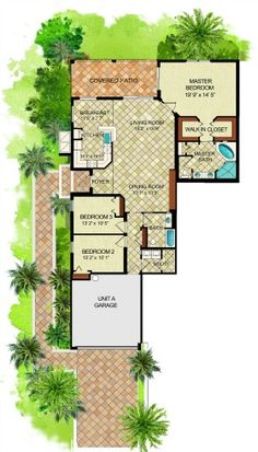 Fiddler's Creek Florence Coach home floor plan! #LennarSWFL
