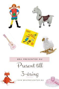 Bra present till 3-åring | En sida med massor av presenttips som 3-åringar tycker om att få. Ge 3-åringen en perfekt födelsedag med de rätta presenterna!