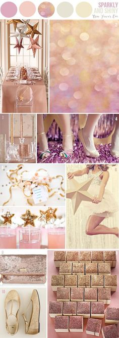 ♥ Sparkly Fairytale Color Palette