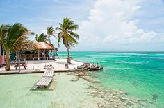 Welcome to Paradise (by Jesse Stanley)  Caye Caulker, Belize