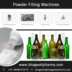Cater a complete range of filling machines for powdered products - http://www.bhagwatipharma.com/powder-filling-machines/.