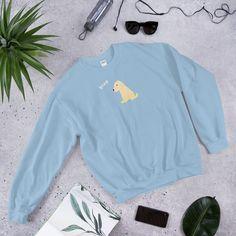 BLEP Dog Sweatshirt Sweat Shirt, Crew Neck Sweatshirt, Graphic Sweatshirt, Ariana Grande, Streetwear, White Camo, Pli, Lifestyle Clothing, Spandex