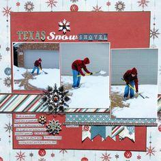 Texas Snow Shovel *Sketch N Scrap* - Scrapbook.com