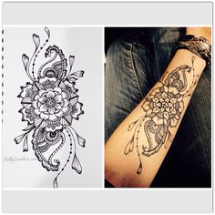 5 Henna tattoo inspi