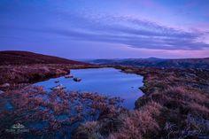 Glen Cova near Loch Brandy at sunset, Scotland.