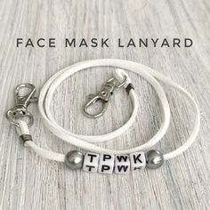 Diy Mask, Diy Face Mask, Face Masks, Plastic Beads, Fashion Face Mask, Go Shopping, Leather Cord, Chain, Silver