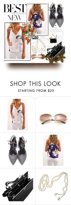 """""""Yoins"""" by marianazarova ❤ liked on Polyvore featuring Chanel, yoins and loveyoins"""