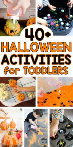 Halloween Activities for Toddlers - Busy Toddler