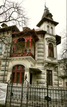 **Living in Bucharest**  House on Lascar Catargiu Street, Bucharest, Romania