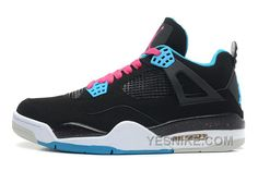 """http://www.yesnike.com/big-discount-66-off-air-jordan-4-retro-south-beach-black-dynamic-bluewhitevivid-pink-for-sale.html BIG DISCOUNT! 66% OFF! AIR JORDAN 4 RETRO """"SOUTH BEACH"""" BLACK/DYNAMIC BLUE-WHITE-VIVID PINK FOR SALE Only 85.10€ , Free Shipping!"""