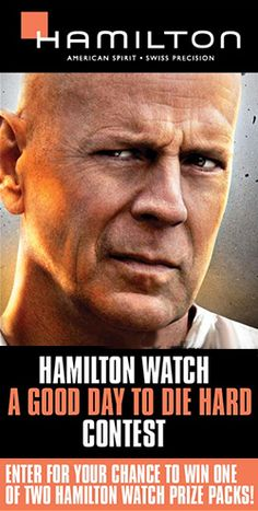 Win a Hamilton Watch Prize Pack with Cineplex