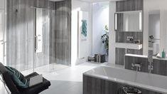 Kreative Wandgestaltung liegt im Trend. Setzten Sie Akzente oder zaubern Sie eine ganz neue Stimmung in Ihr Bad. Ohne schmutzige Fliesenarbeiten, hygienisch, fugenlos, hochwertig. Bathroom, Lush, Home Technology, Refurbishment, Mood, Washroom, Bathrooms, Bath