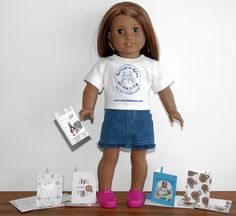 """3 new """"printable"""" tissue boxes for  American Girl Dolls   Click on the link below and save to your  computer as a JPEG. Print in portrait..."""