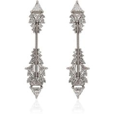 Fernando Jorge Fusion Short Arrow Earrings | Harrods ❤ liked on Polyvore featuring jewelry, earrings, fernando jorge, earring jewelry, fernando jorge jewelry and earrings jewellery
