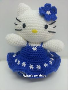 Patrones en español / English patterns y videotutoriales para hacer amigurumis y labores a ganchillo